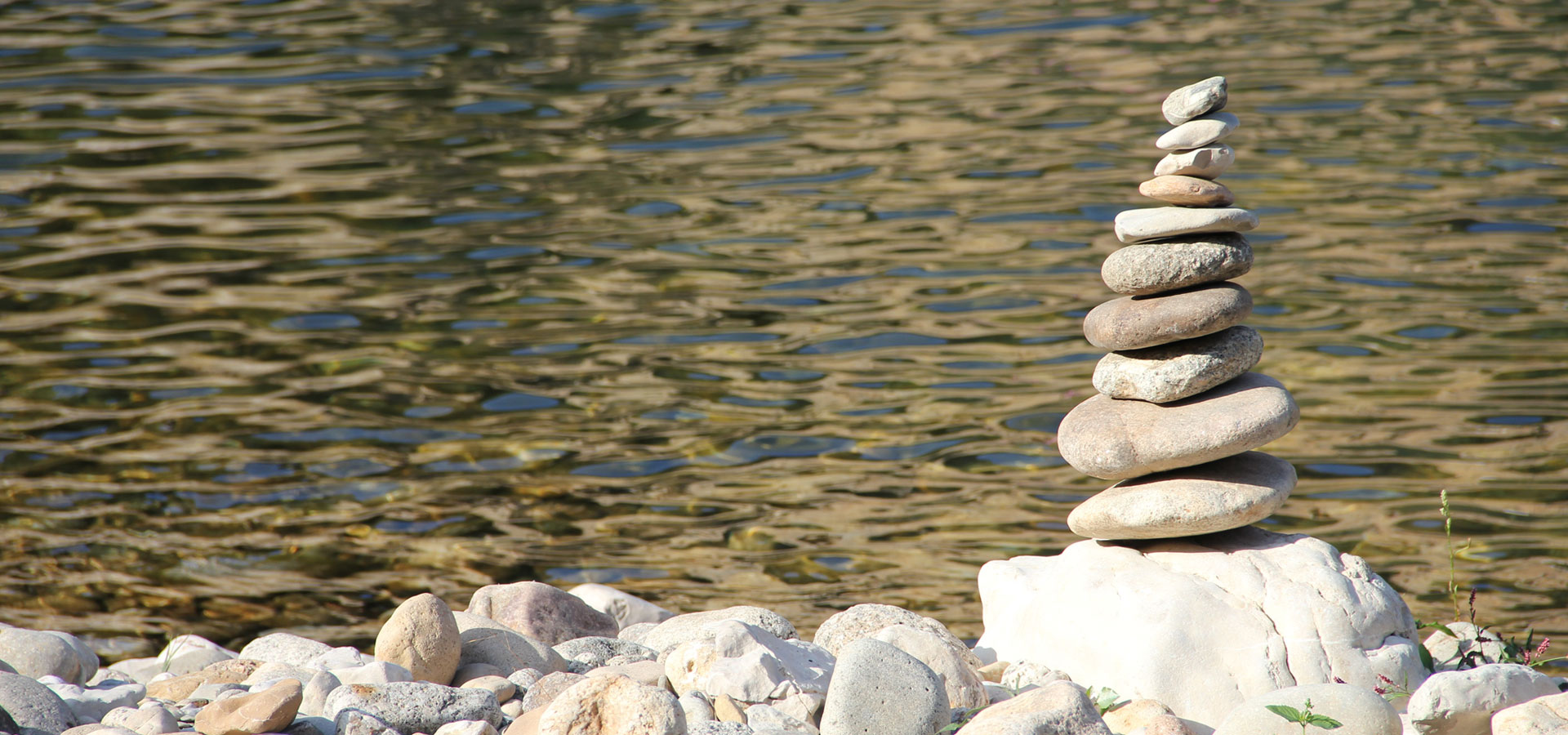 balanced rocks stacked from largest to smallest